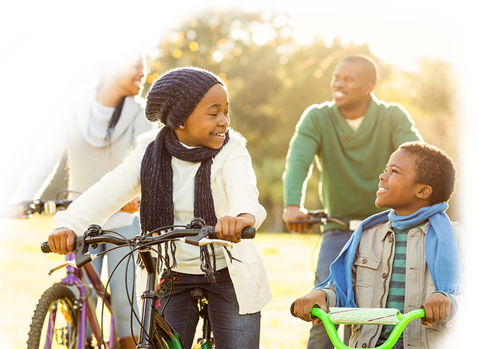 a family on bicycles a secton image for ESTATE PLANNING ATTORNEYS IN SCHERERVILLE